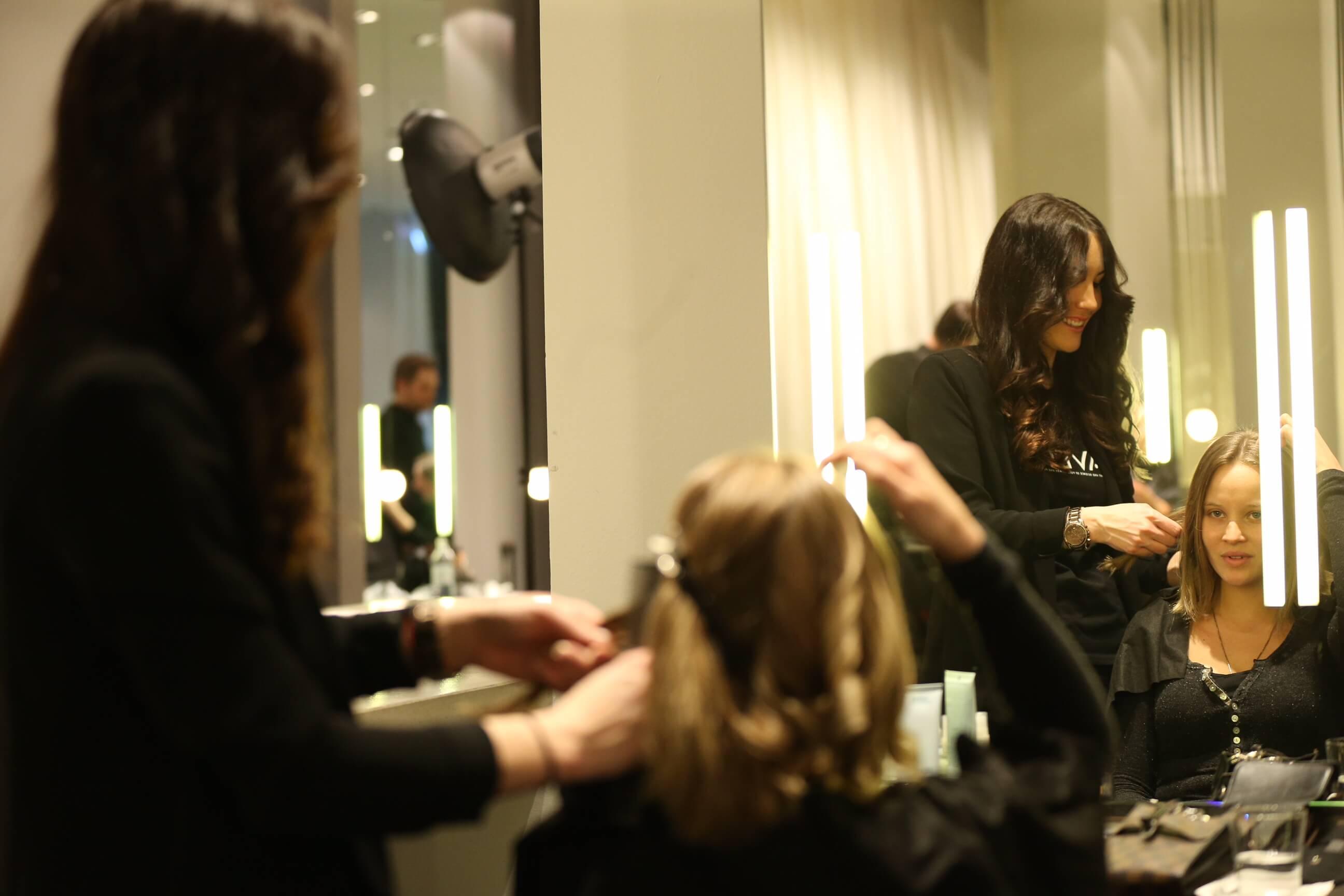 Sonja Gerhardt AVEDA Beauty Lounge am Gendarmenmarkt im Rahmen der PLACE TO B Party im Rahmen der BERLINALE / 66. Internationale Filmfestspiele Berlin / 66th International Film Festival in Berlin am 13.02.2016 (c.)PEOPLEFOTOGRAF MARKO GREITSCHUS