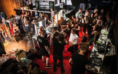 JUNI 2016 – MYRIAM MIT DEM AVEDA EVENTTEAM AUF DER BERLINER FASHIONWEEK
