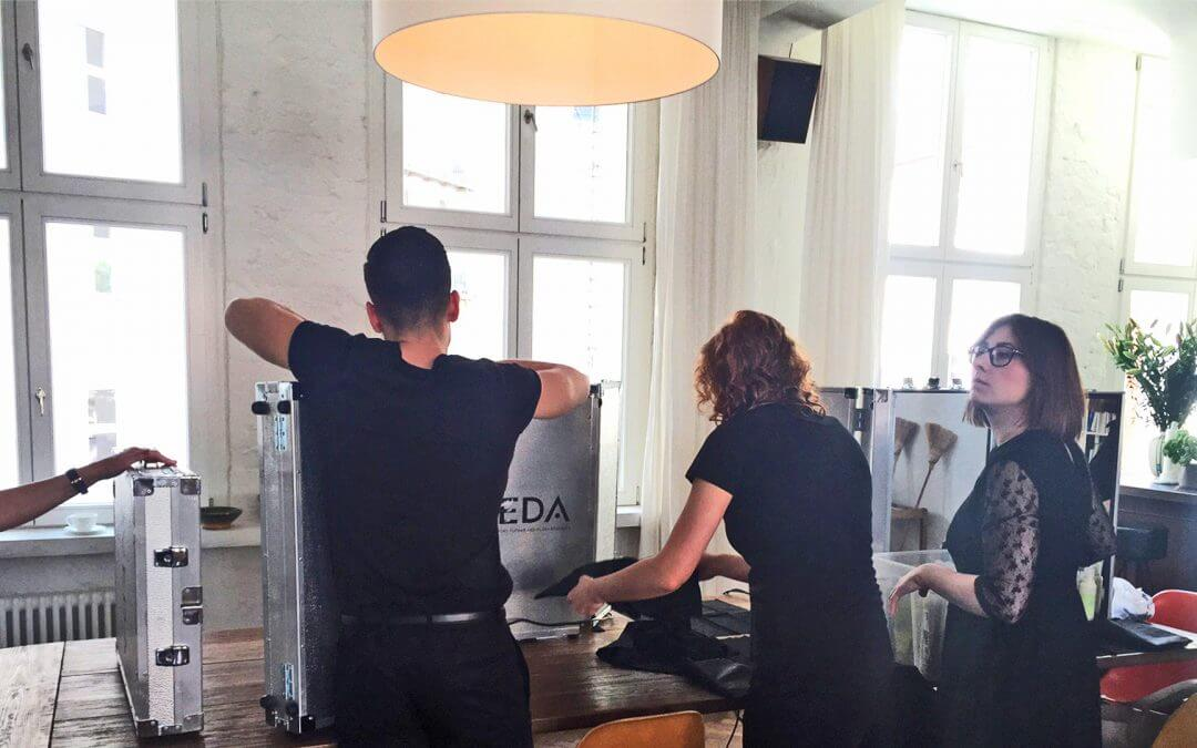 "MAI 2016 – AVEDA EVENTTEAM IM EXCLUSIVEN ""SOHO HOUSE"" BERLIN"